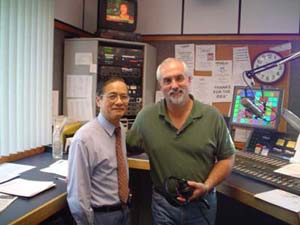 Dr. Lau and Larry Northern